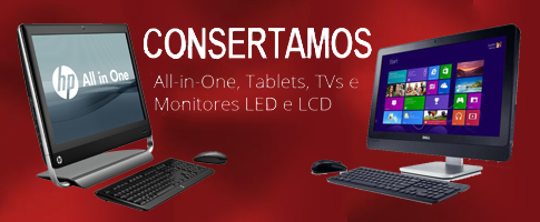 Consertamos Monitores Integrados (All-in-One)